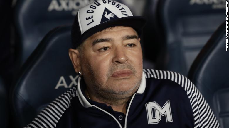 Maradona Di Usia 60 Tahun