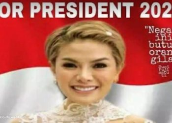 Screenshot 2020 11 14 Viral Nikita Mirzani For President 2024