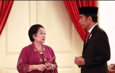 presiden joko widodo berdialog dengan ketum megawati soekarnoputri