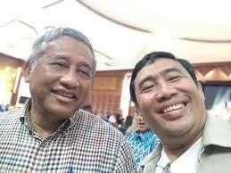 ss budi raharjo bersama ketua dewan pers muhammad nuh